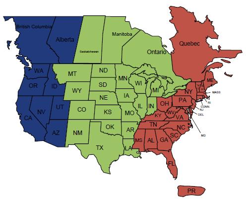 PHS Territory Map